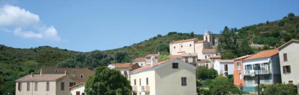 Le village d'Alata