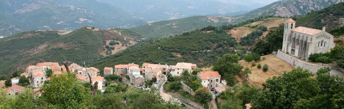 Le village de Cuttoli Corticchiato
