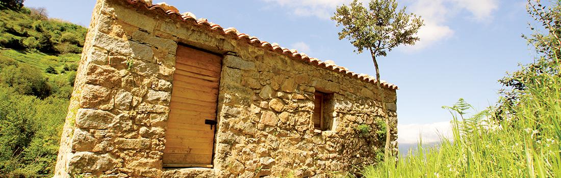 La fabrique d'ébauchons de pipes du sentier des moulins de Cuttoli Corticchiato