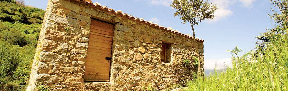 Fabrique d'ébauchons de pipes du Sentier des moulins de Cuttoli-Corticchiato