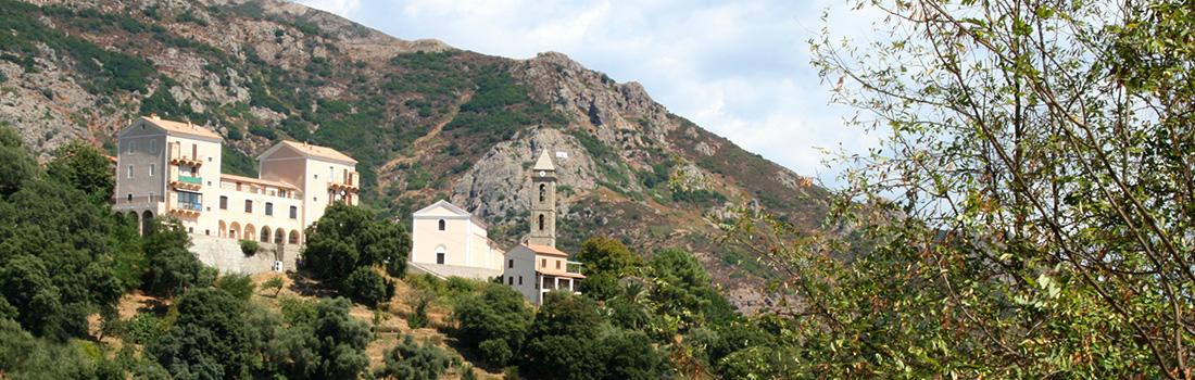 Le village de Sarrola Carcopino