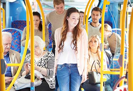 Intérieur de bus