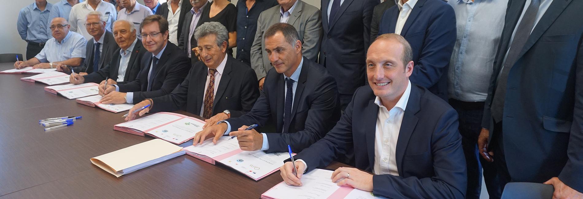 Signature des contrats de ruralité en Corse du Sud