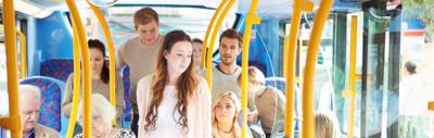 Passagers de bus Muvistrada