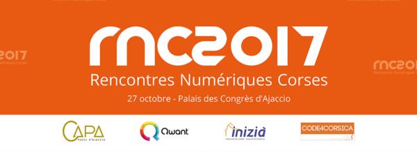 Logo 2èmes Rencontres Numérique Corses