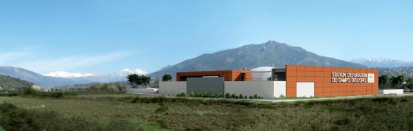 Station d'épuration de Campo del Oro