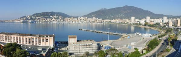 Quartiers de la ville d'Ajaccio