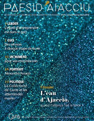 Couverture du magazine PAESI janvier 2018