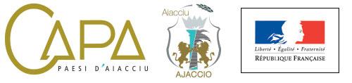 Logos CAPA Ville d'Ajaccio et Etat