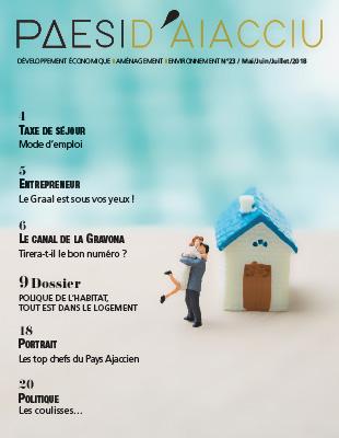 Couverture du magazine Paesi d'Aiacciu