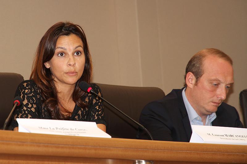 Valérie Bozzi et Laurent Marcangeli