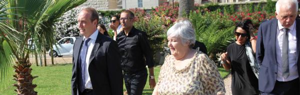 Laurent Marcangeli et Madame la Ministre, Jacqueline Gourault