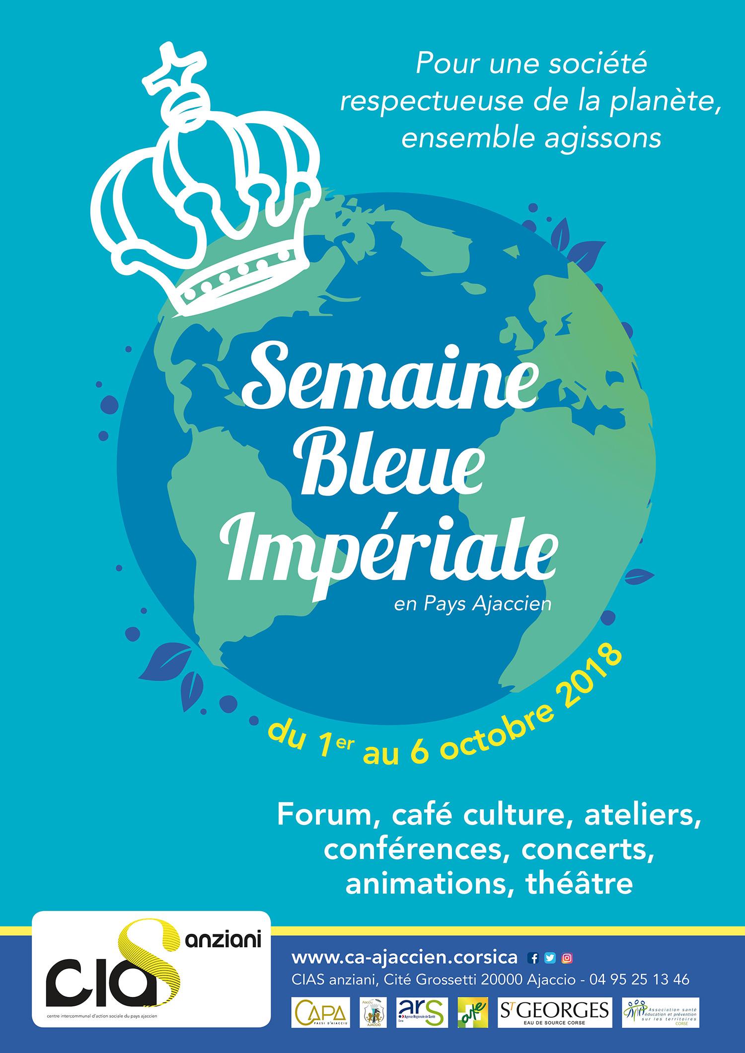 affiche semaine bleue impériale 2018