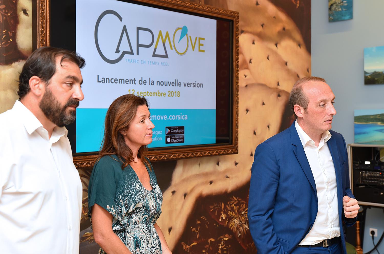 présentation presse de CAPA Move 1.1