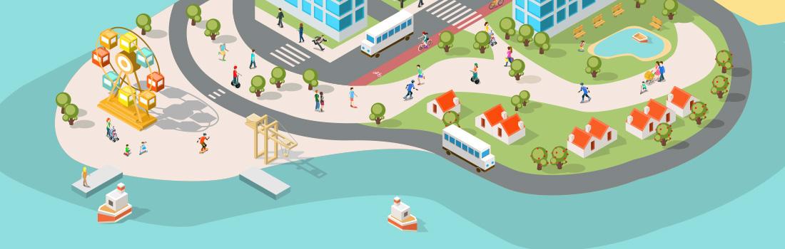 illustration semaine de la mobilité à Ajaccio 2018