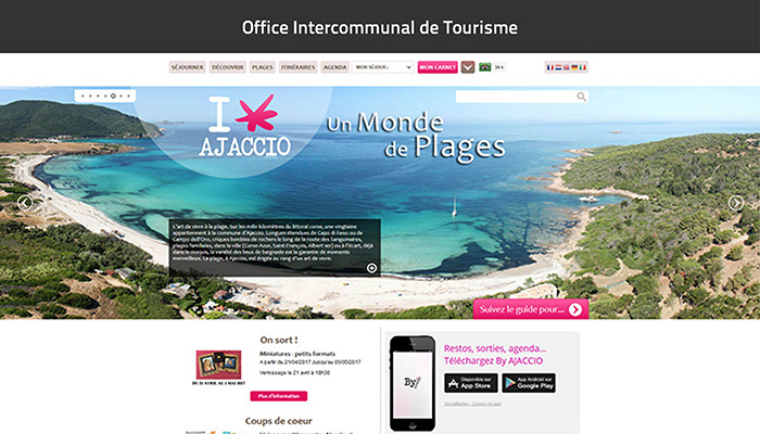 Office Intercommunal de Tourisme d'Ajaccio