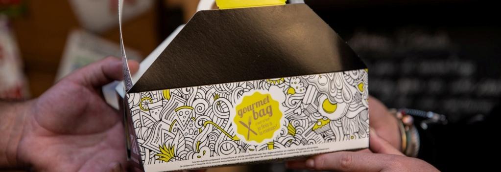 Photo de la boîte gourmet bag