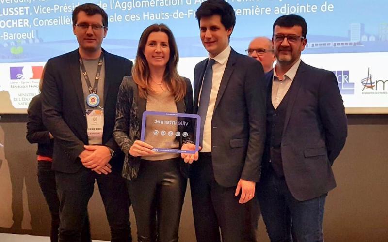 Marie Antoinette Santoni Brunelli et Alexandre Vican aux territoires internet 2018