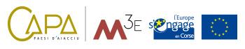Logos CAPA M3E et Europe