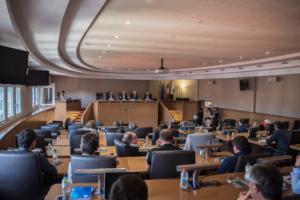 Présentation du compte administratif 2018 lors du conseil communataire de mai 2019
