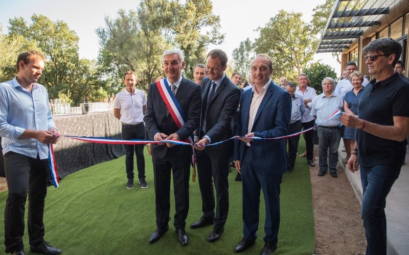 Inauguration du centre socioculturel et sportif à Peri