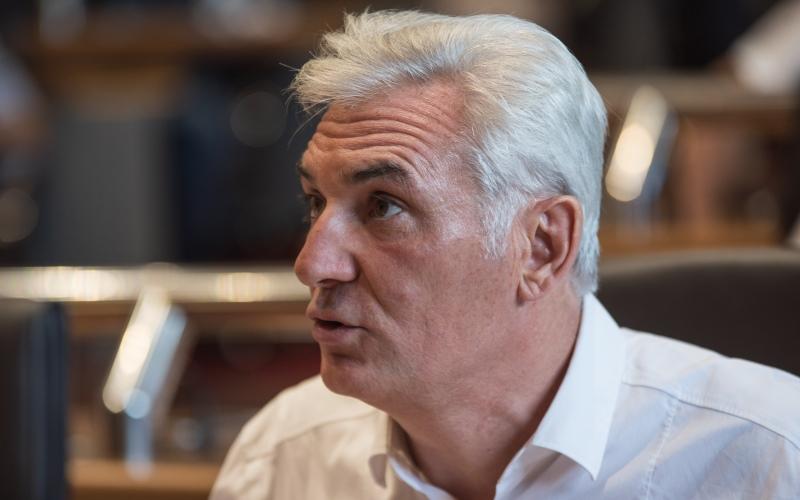 Xavier Lacombe présente le budget supplémentaire 2019