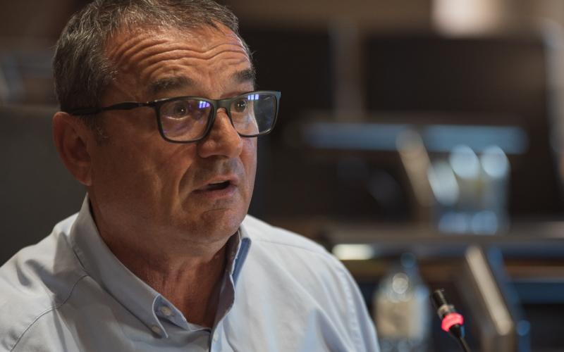 François Filoni présente la stratégie de gestion de crise des déchets