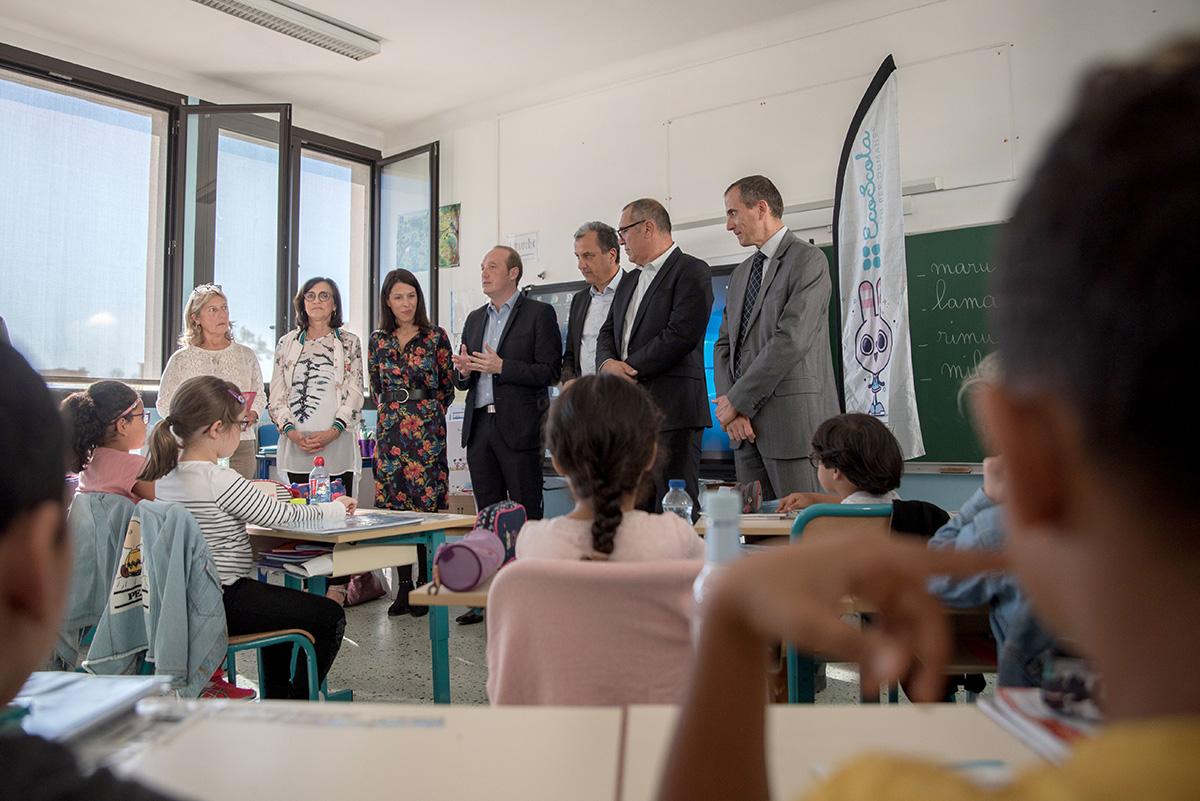 l'école Saint Jean Castel Vecchio renouvelle son engagement dans la démarche EcoScola