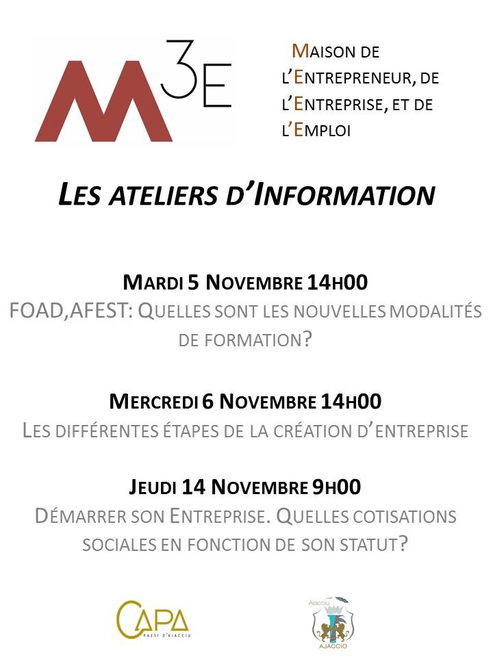 Programme mensuel de la M3E