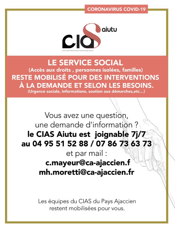 Mémo CIAS service social