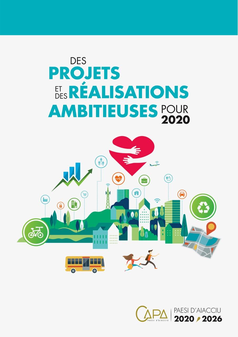 Dossier projets et réalisations CAPA 2020