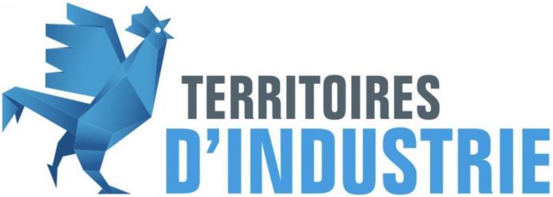 Logo territoires d'industrie